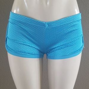 Mesh Shorts - Soccer Neon Shorts BLUE